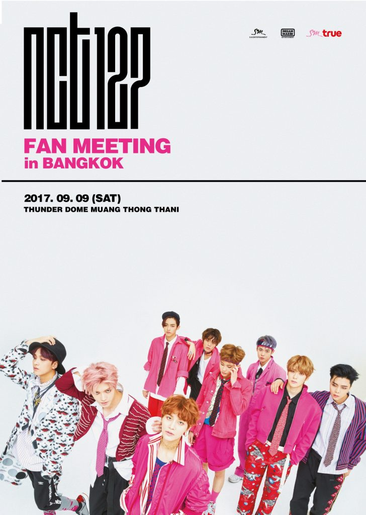 [Key Visual] NCT 127 FAN MEETING in BANGKOK