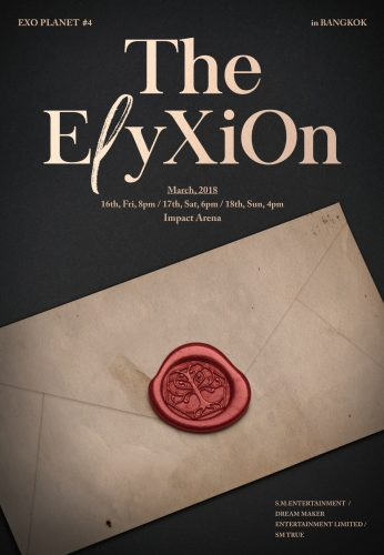 [Key Visual_Letter] EXO PLANET #4 – The E_yXiOn – in BANGKOK