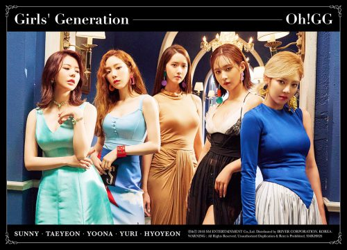 [Group Image 1] Girls' Generation-Oh!GG
