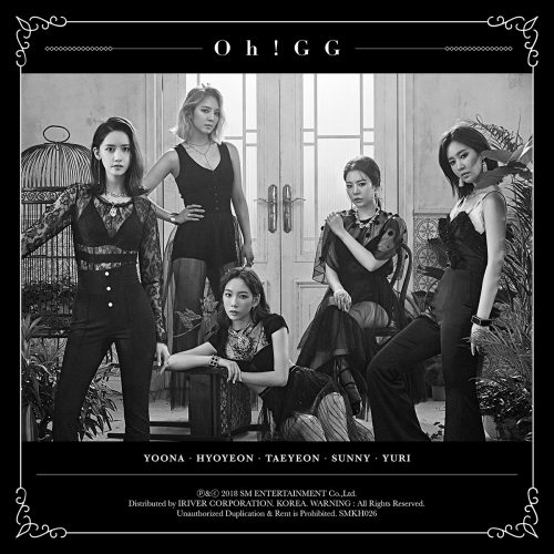 [Group Image 3] Girls' Generation-Oh!GG