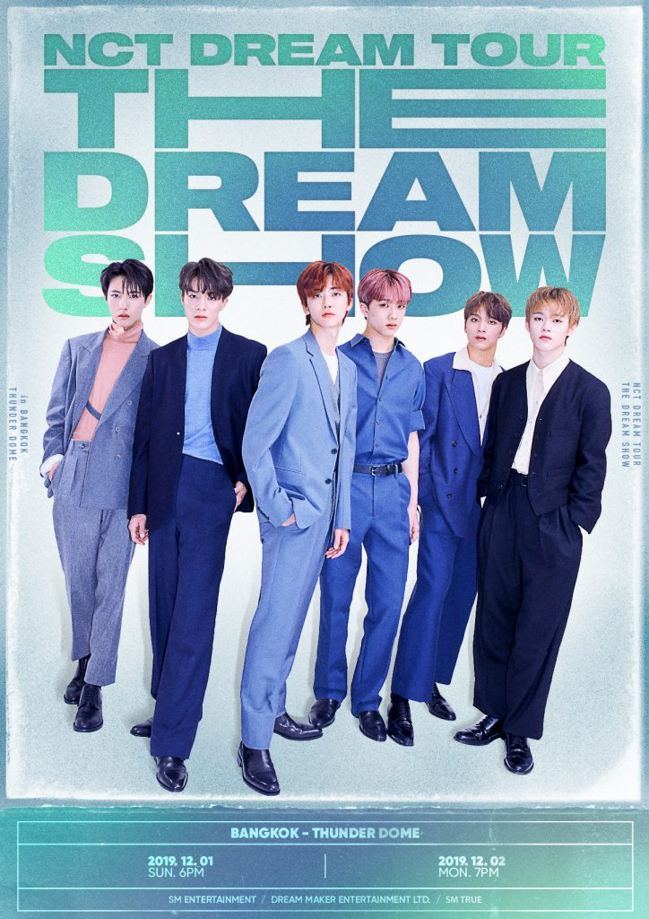 """[POSTER] NCT DREAM TOUR """"THE DREAM SHOW"""" - in BANGKOK"""