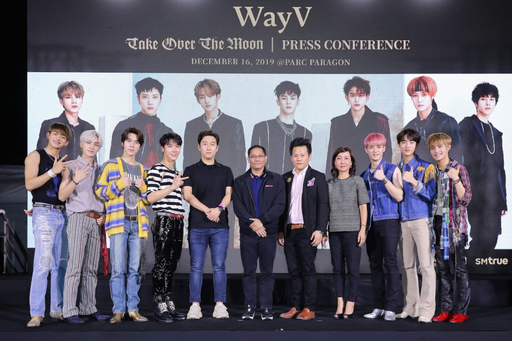 [Press Conference & Fan Signing_Image 1] WayV & SM CHINA & SM True & True Together & Siam Paragon